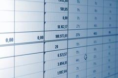Business data Stock Image