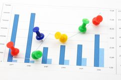 Business data Royalty Free Stock Images
