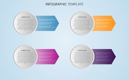 Business data with abstract elements of graph. Vector template for presentation. Creative concept for infographics. Business data with abstract elements of stock illustration