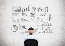 Business data analysis Stock Photography