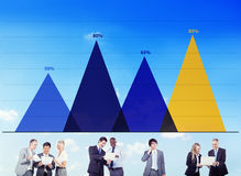 Business Data Analysis Strategy Marketing Graph Concept Stock Image