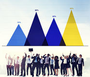 Business Data Analysis Strategy Marketing Graph Concept Royalty Free Stock Photography