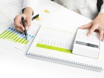 Business Data Analyzing Royalty Free Stock Image