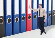 Business data archiving and backup concept stock photos