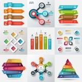 Business data visualization. Stock Photo