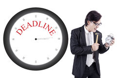 Business deadline Stock Photography