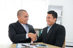 Business deal stock image