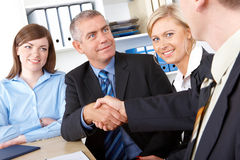 Business deal royalty free stock photo
