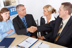 Business deal Stock Images