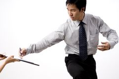Business Deal in Asia Stock Photos