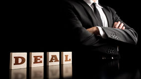 Business deal concept Royalty Free Stock Photo