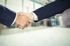 Business deal finalized Stock Images
