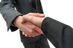 Business deal handshake Stock Photo