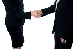 Business deal, handshake stock images