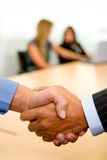 Business deal - handshake Royalty Free Stock Images