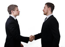 Business deal handshake Stock Images