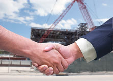 Business deal / handshake Royalty Free Stock Photos