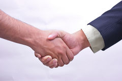 Business deal / handshake Royalty Free Stock Image