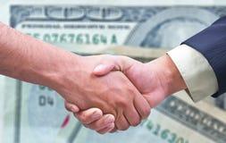 Business deal / handshake Stock Image
