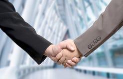 Business deal, handshake Stock Image