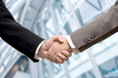 Business deal, handshake Royalty Free Stock Image