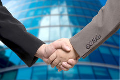 Business deal, handshake Royalty Free Stock Photography