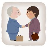 Business Deal Handshake Royalty Free Stock Photos