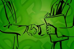 Business deal III Royalty Free Stock Photo