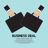 Business Deal. Partnership Vector Illustration Royalty Free Stock Photography