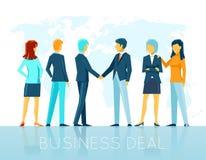 Business deal stock illustration