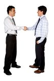 Business deal between two men Stock Photography