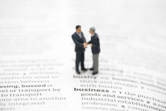 Business definition in a dictionary Royalty Free Stock Image