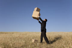 Business deliver Stock Photo