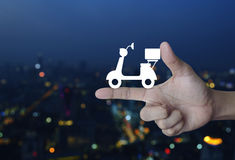 Business delivery service concept Stock Photo