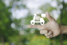 Business delivery service concept Stock Photography