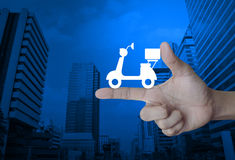 Business delivery service concept Royalty Free Stock Images