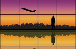 Business Departure Royalty Free Stock Photos
