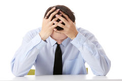 Business depression Royalty Free Stock Photography