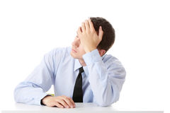 Business depression Royalty Free Stock Photos