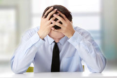 Business depression Royalty Free Stock Image