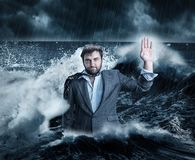 Business depression Stock Photography