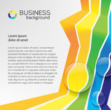 Business design concept. Background Stock Photography