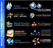 Business Design Elements Stock Images