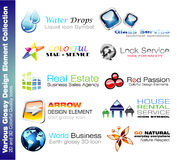 Business Design Elements royalty free stock image