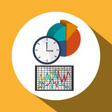 Business design. Financial item icon. Flat illustration. Business concept with icon design,  illustration 10 eps graphic Royalty Free Stock Photo