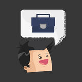 Business design. Financial item icon. Flat illustration. Business concept with icon design,  illustration 10 eps graphic Royalty Free Stock Photos