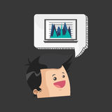Business design. Financial item icon. Flat illustration. Business concept with icon design,  illustration 10 eps graphic Stock Photos