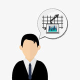 Business design. Financial item icon. Flat illustration. Business concept with icon design, vector illustration 10 eps graphic Royalty Free Stock Photo