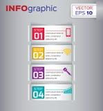 Business design illustration Royalty Free Stock Photos
