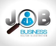 Business design. Business design over white background, vector illustration royalty free illustration